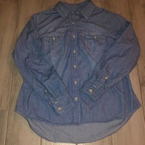 Button-Up Jean Shirt from Universal Thread
